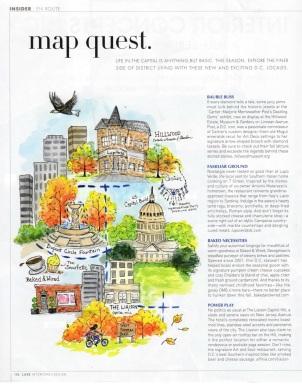 Luxe Magazine DC En Route
